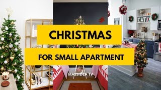 65+ Best Christmas Decorations Ideas for Small Apartment