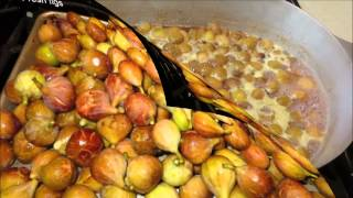 Figs To Fig Preserves