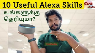 Alexa Episode 7 : Most Useful Alexa Skills | Amazon Echo Dot India | 10 Everyday Alexa Skills