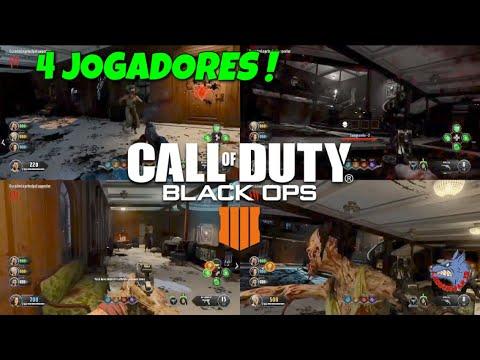 4 JOGADORES - COD BLACK OPS 4