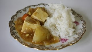 Japanese Curry With Tofu | Ochikeron-inspired