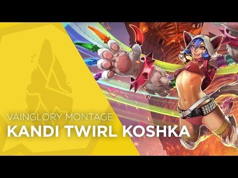 Vainglory Montage - Kandi Twirl Koshka