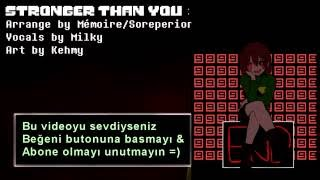 Chara Stronger than You Türkçe Çeviri「Undertale」