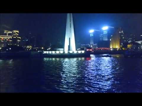 Night Cruise along the River of Shanghai