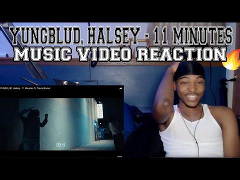 yungblud,-halsey---11-minutes-ft.-travis-barker---reaction