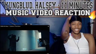 YUNGBLUD, Halsey - 11 Minutes ft. Travis Barker - REACTION