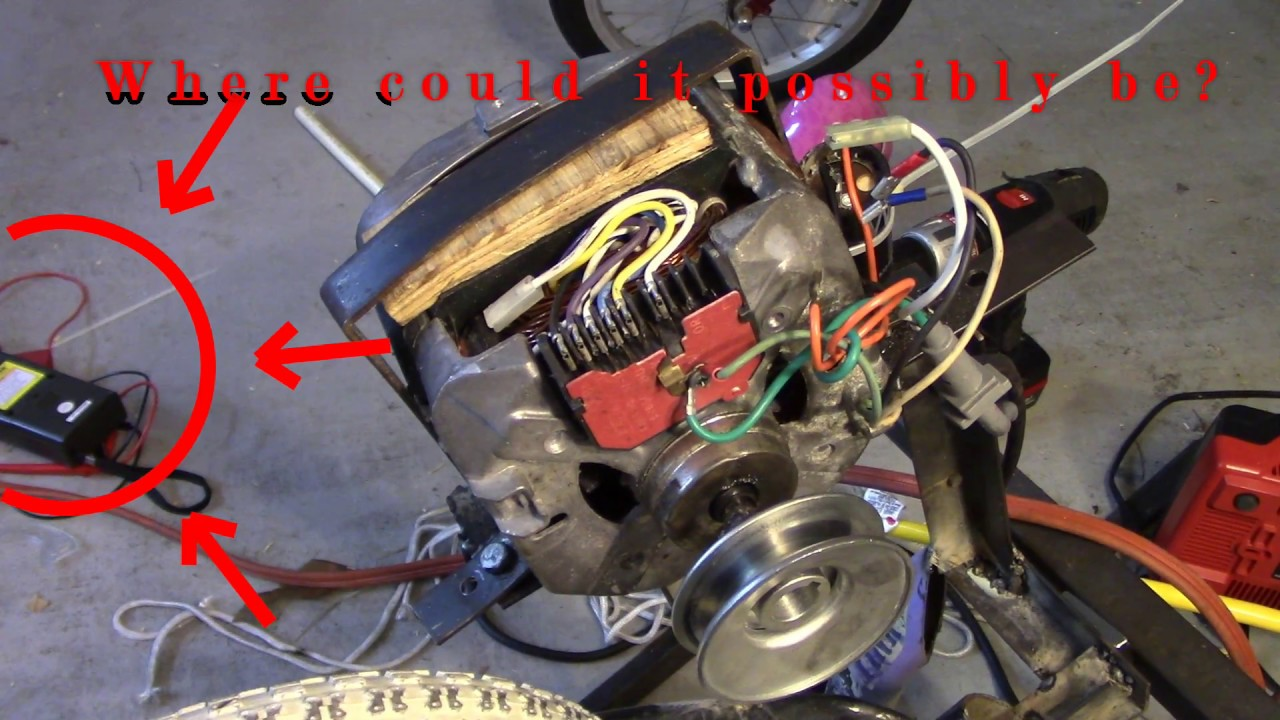 diy washing machine motor wiring youtubediy washing machine motor wiring
