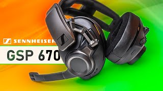 The Best Wireless Headset Yet!?  Sennheiser GSP 670 Review