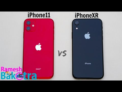IPhone 11 Vs IPhone XR SpeedTest And Camera Comparison