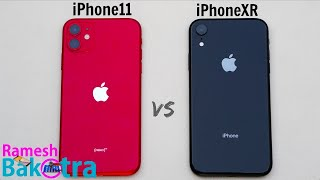 iPhone 11 vs iPhone XR SpeedTest and Camera Comparison