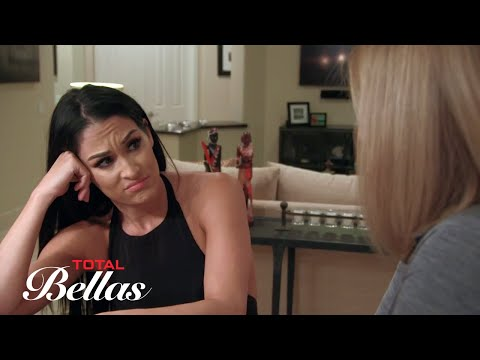 Kathy reveals some news about Winston to Nikki Bella: Total Bellas, Sept. 20, 2017