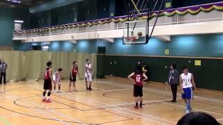 20150209 屯門學界籃球賽 B grade 四強 ~