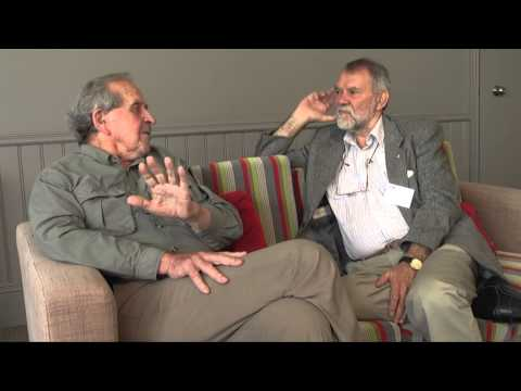 Hal Wootten and Gordon Briscoe in The Story Project: 40 years of the ALS