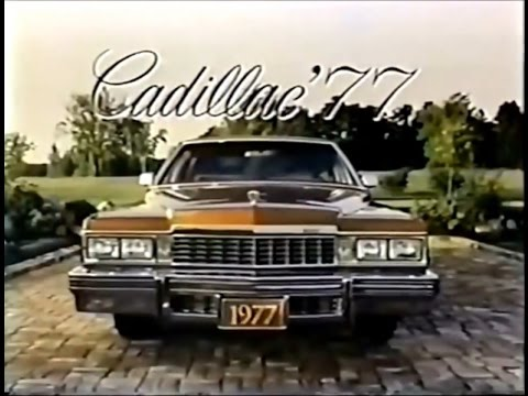 77 Cadillac Commercial (1976) - YouTube