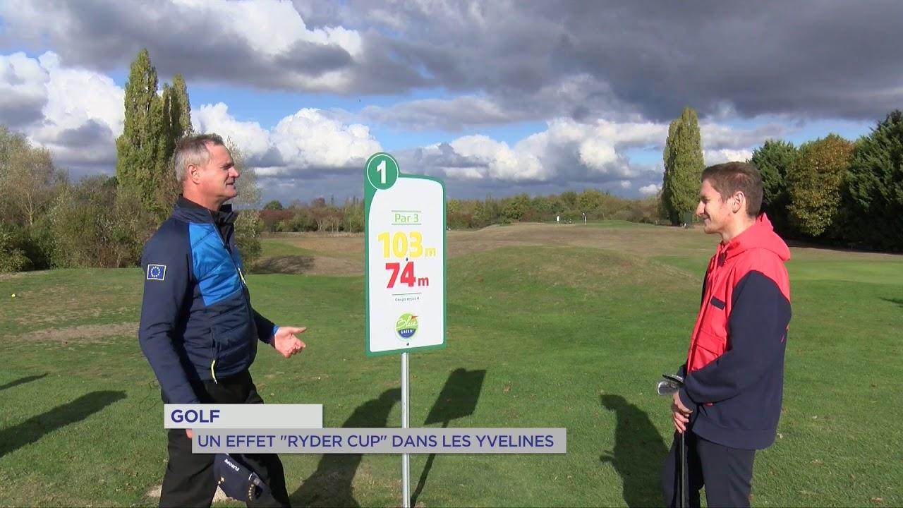 """Golf : Un effet """"Ryder Cup"""" dans les Yvelines"""