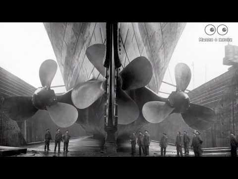 Титаник 1912 года! Корабль, палубы, каюты, строительство