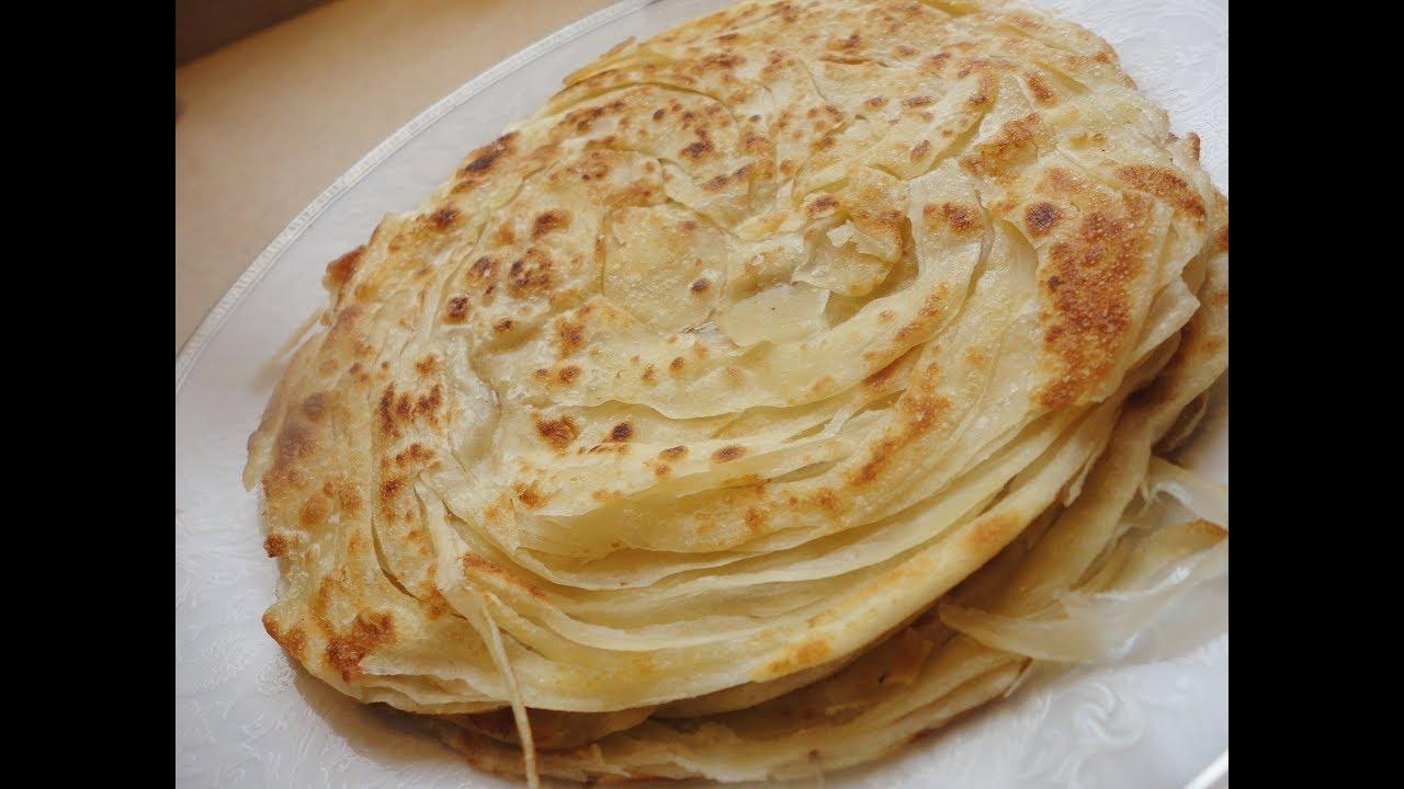 خبز البراتا الهندي مطبخ ماجد Youtube