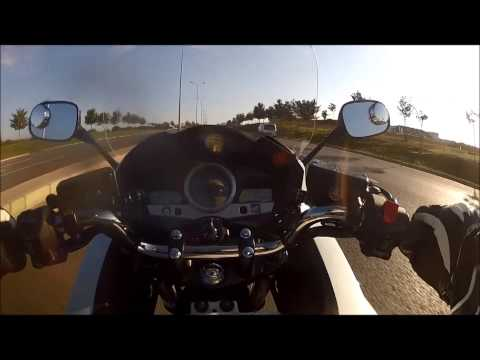 Relax in seconds with Motorcycle acceleration (HONDA CBF 1000)