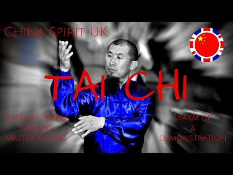 Tai Chi Warm Up & Demonstration with Shaolin Temple Trained Master Xingbo of China Spirit UK