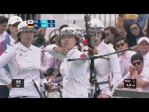 Recurve Women Team Bronze - Shanghai - Archery World Cup 2013