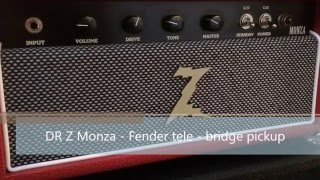 DR Z Monza - Clean tones