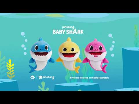Baby Shark Singing Puppet - Smyths Toys