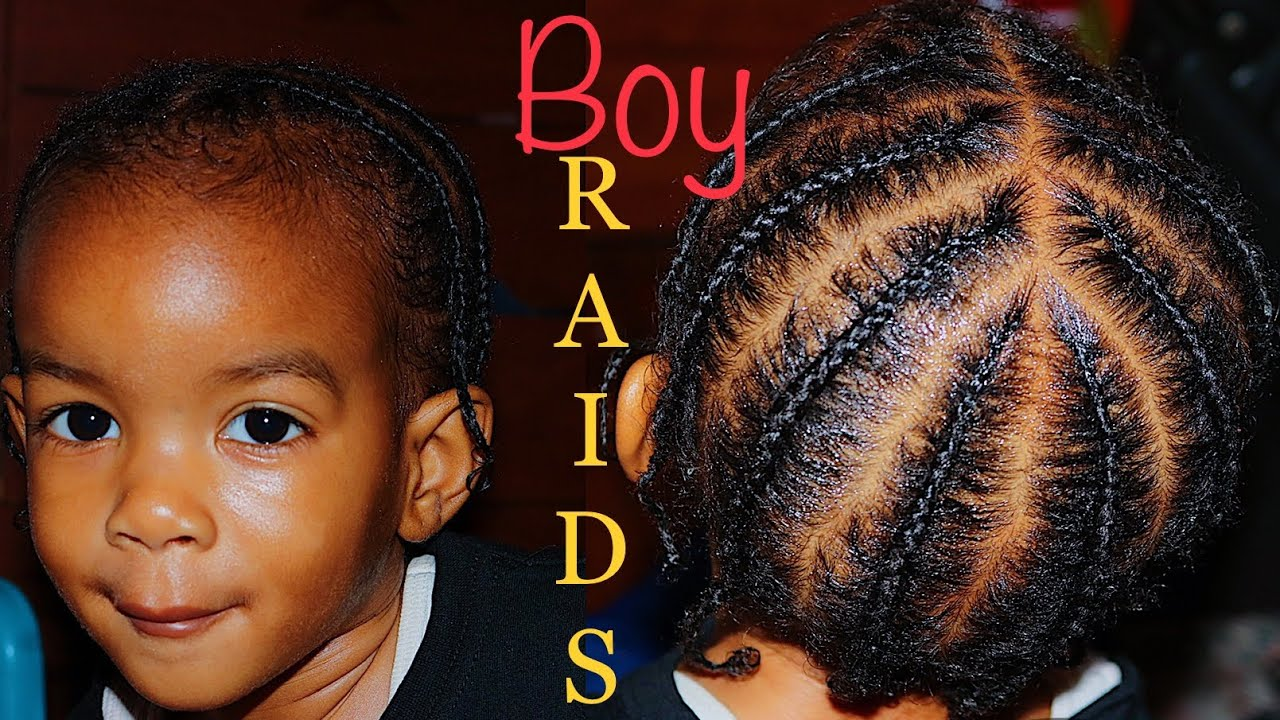 Toddler Boy Braids Baby Hair Care Tips Youtube