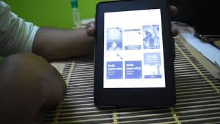 Kindle Paperwhite 6 Inch and NuPro SlimFit Cover for Kindle Paperwhite | Unboxing | Setup