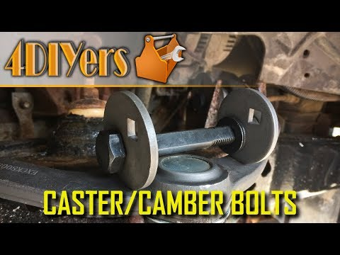 How to Install Caster and Camber Bolts on a Ford Ranger
