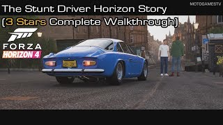 Gambar cover Forza Horizon 4 - The Stunt Driver Horizon Story (3 Stars Complete Walkthrough)