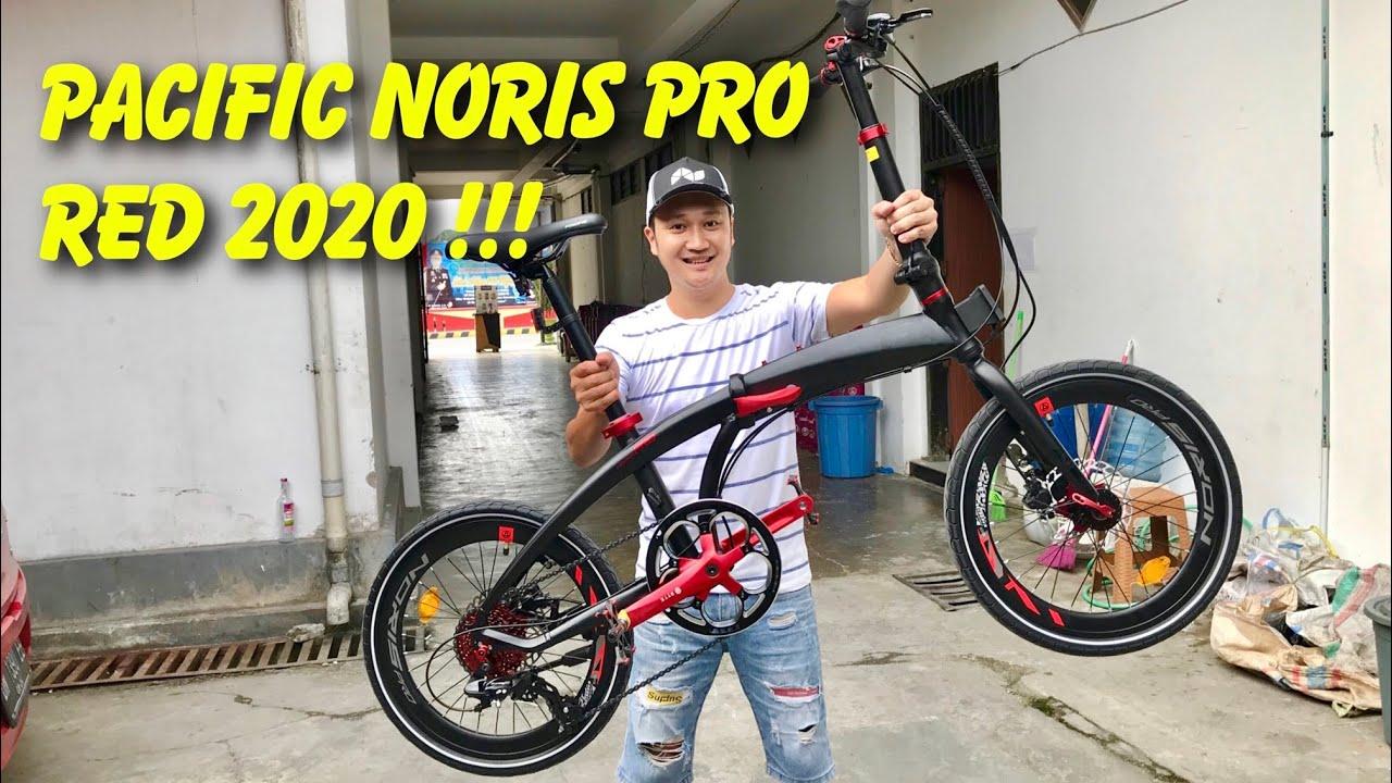 SEPEDA PACIFIC NORIS PRO RED 2020
