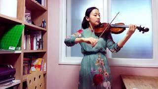 스즈키3권 마르티니 가보트 바이올린 배우기 바이올린 김민정 기초 바이올린 초급 바이올린레슨