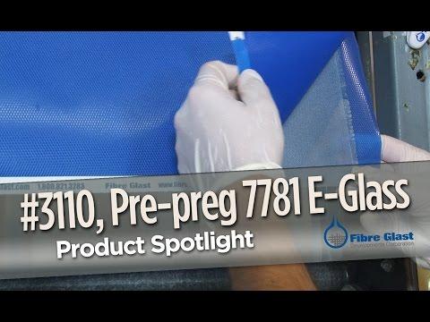 Prepreg 7781 E-Glass