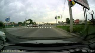 ДТП с кабриолетом 01.06.2015 Челябинск