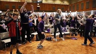 Wildcat fans celebrate first NCAA tournament win