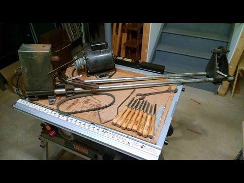 Old Sears Wood Lathe