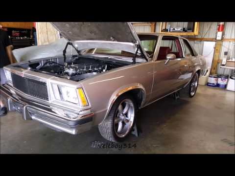 First Start - 1978 Malibu with Z-06 Supercharged LT4 Crate Engine