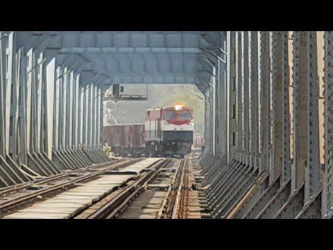 [ قطارات مصر ] قطارات البضاعة بمحطة بنها  - Egyptian Freight Trains