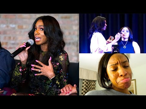 TRAVEL DIARY Worst Day of My Life Part 2! UNC Charlotte Event + Panel ▸ VICKYLOGAN