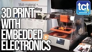 Voxel8 Demo 3D Printed Wiring And Electronics At CES 2015