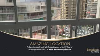 Luxury Benidorm apartment rental for best Levante beach parties,