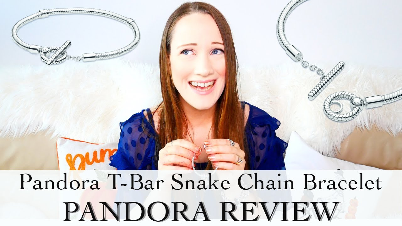 Pandora Moments T-Bar Snake Chain Bracelet | Pandora Bracelet Review