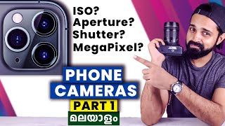 Smartphone Camera Working | Explained in Malayalam - Part 1