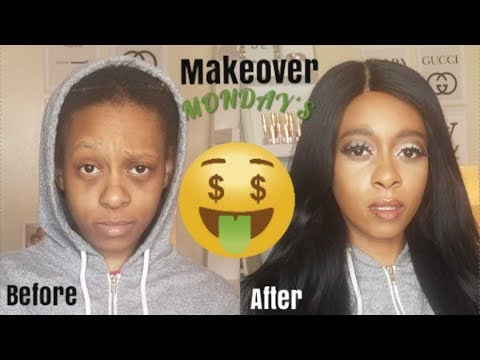 """MAKEOVER MONDAY"""" # 3 TURNING MY TOMBOY SISTER INTO ME 