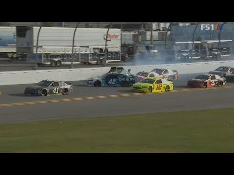 Monster Energy NASCAR Cup Series 2018. Clash At Daytona. Final Laps/Multiple Crash