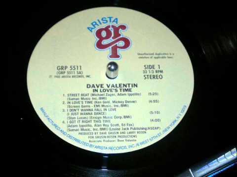 Dave Valentin I Dont Wanna Fall In Love Jazz Funk 82