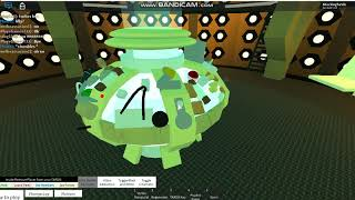 10th doctors regeneration (Roblox Doctor Who)
