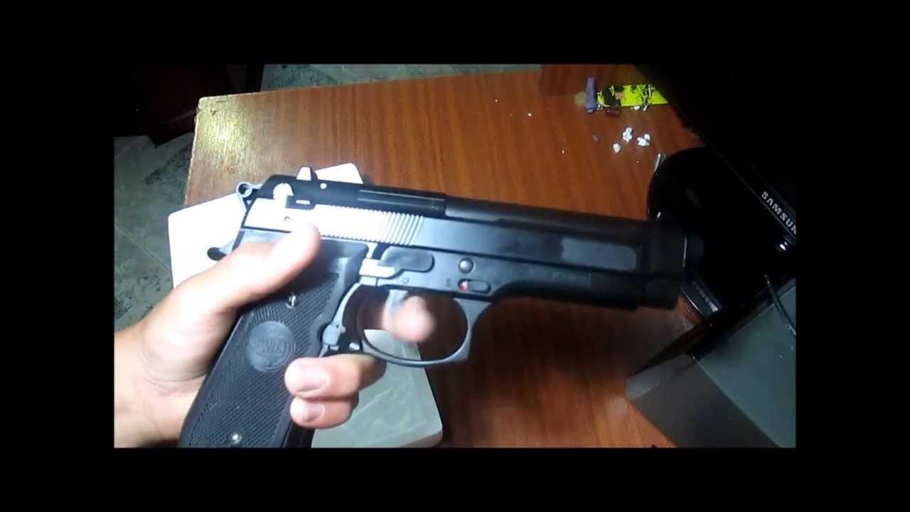 La mejor pistola de balines kwc youtube - Pistola para lacar ...