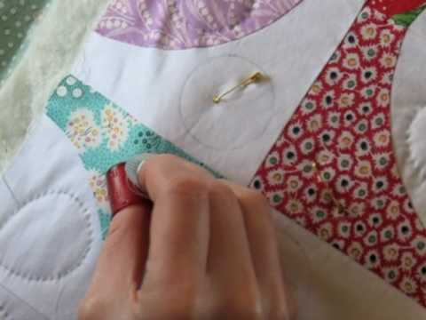 Hand Quilting 5 Stitching Youtube
