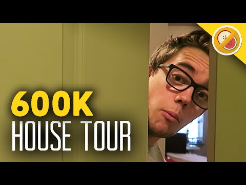 NEW HOUSE TOUR/SETUP VIDEO! 600,000 Subscriber T-Shirt! (Love You)